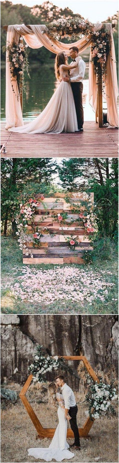 30+ Breathtaking Outdoor Wedding Ideas to Love