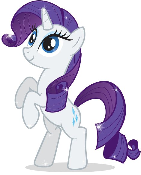 Rarity My Little Pony | My Little Pony | Pinterest | Centros de mesa ...