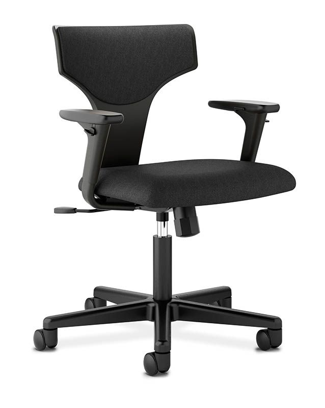 Our New HVL258 Task Chair From Our Basyx By HON Collection! Learn More  About Office