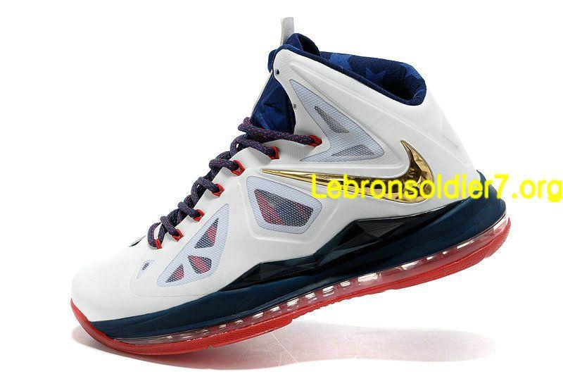 sale retailer b039f 18997 Nike Lebron 10 Olympic Team USA
