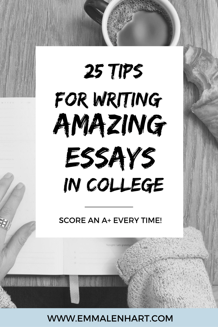 amazing essay writing tips for college students to use  writing  get  essay writing tips to use as a college student find out how to  organize an essay draft an essay edit it and more