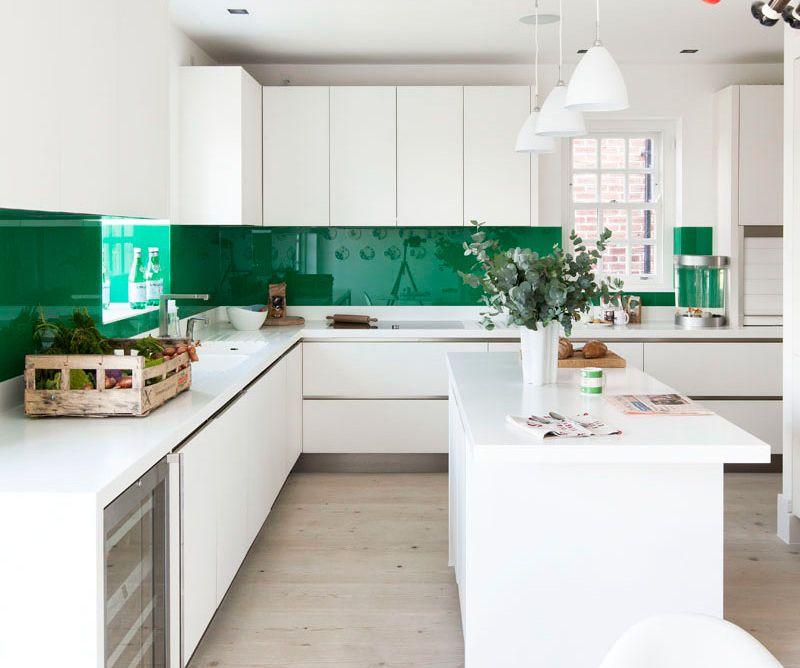 50 idee di colore paraschizzi per una stupenda cucina | Cucina