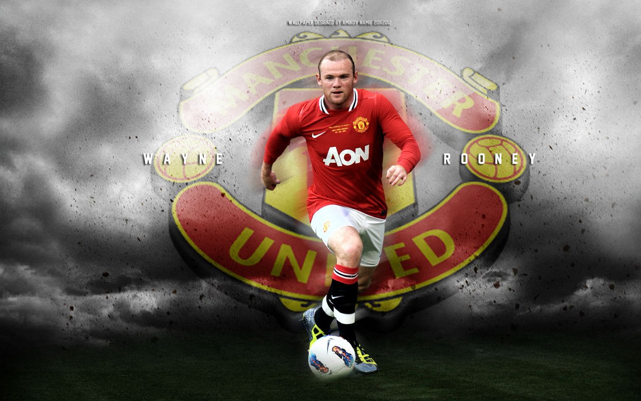 Wayne Rooney Widescreen Wallpaper