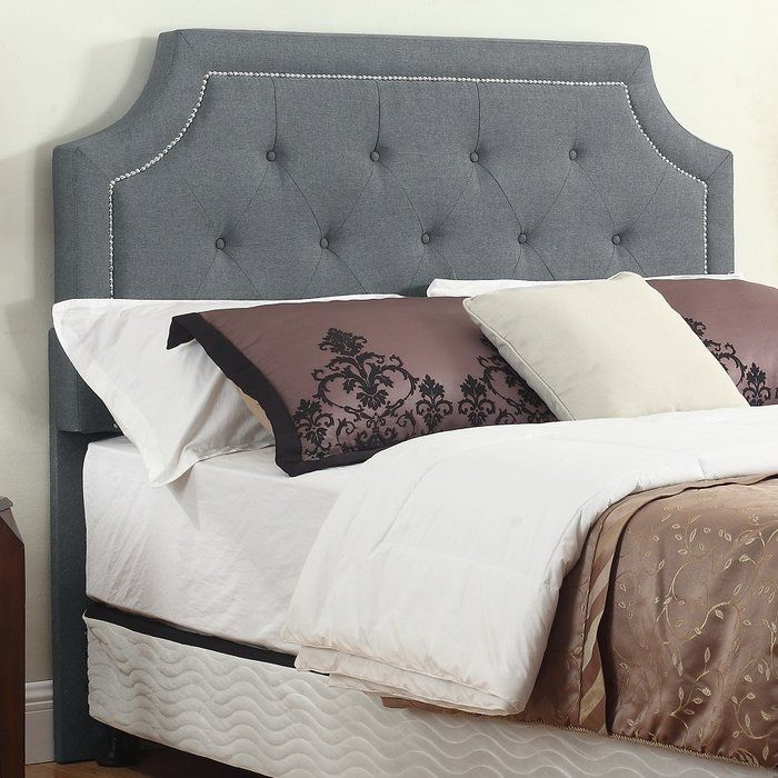 Improve The Aesthetics Of Your Bedroom And Increase The Comfort With - Comfortable-upholstered-headboard