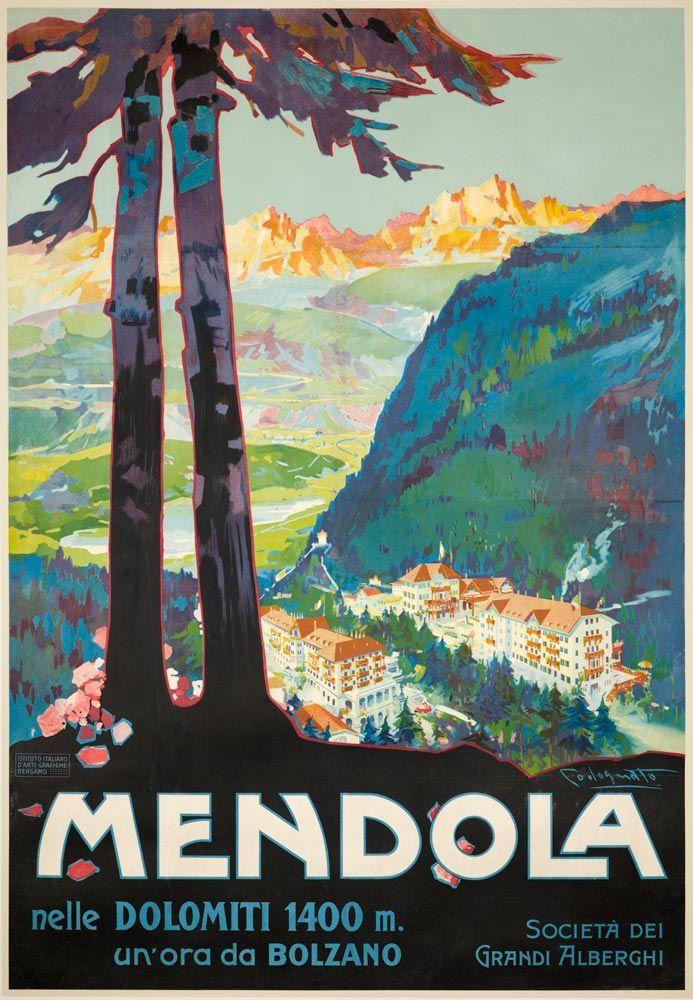 Mendola nelle Dolomiti - 1910's - (Plinio Codognato) -
