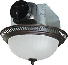 Air King Aklc702 Decorative Quiet Round Bath Fan With Light Nickel More Info Could Be Found At The Image Url Note It Is Affi Bath Fan Fan Light Bathroom Fan