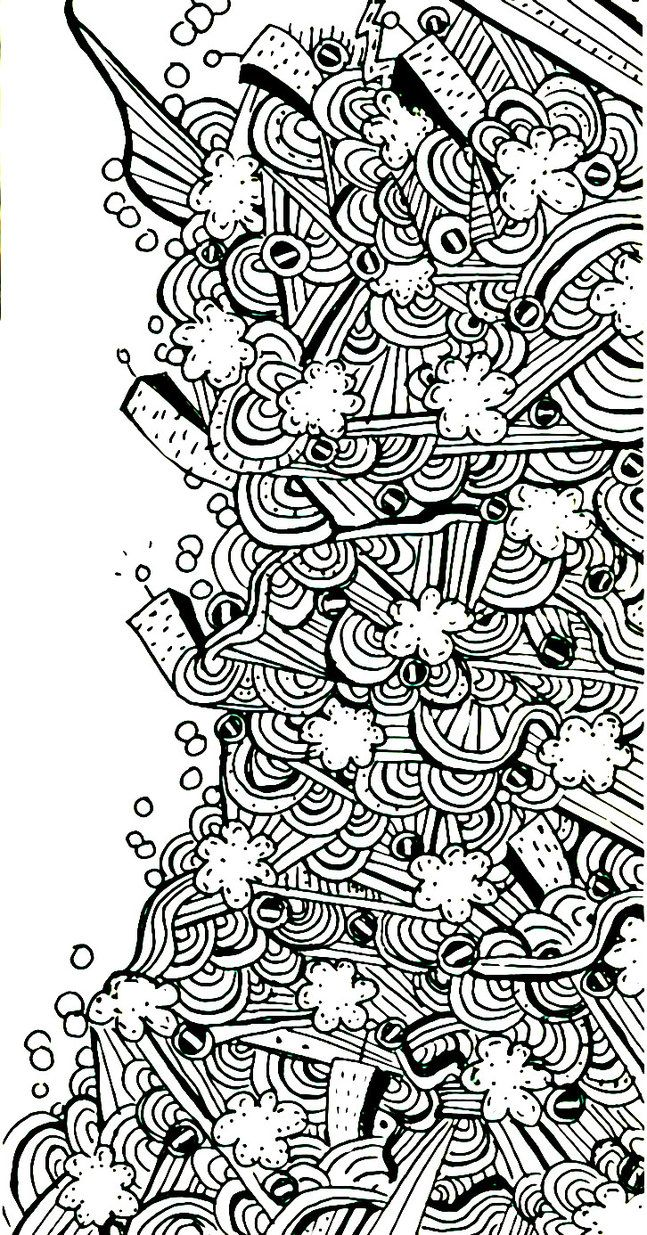 Line Drawing Abstract : Abstract line art by nodoka on deviantart