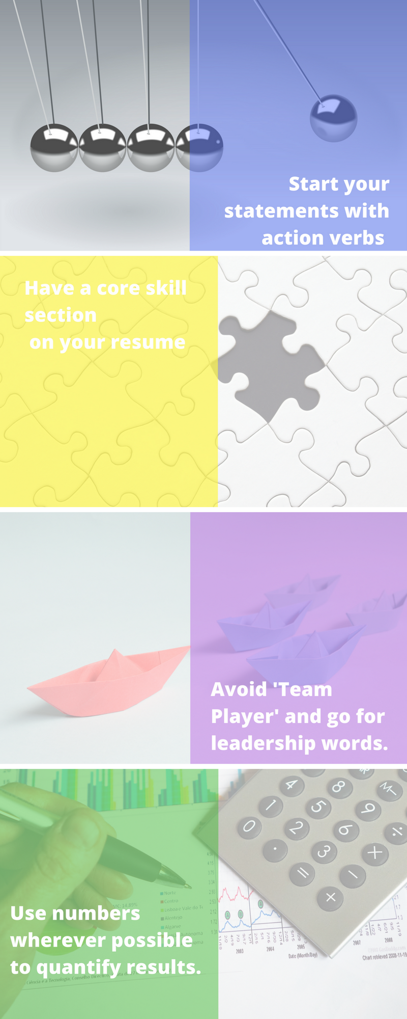 The 4 most effective researchbacked resume optimization