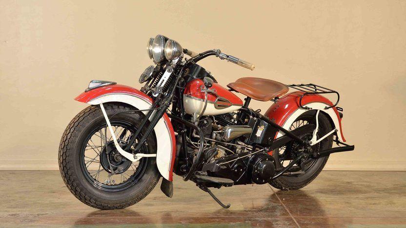 1940 Harley-Davidson UL 74 Flathead