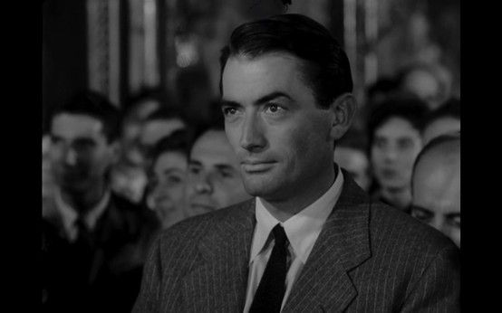 Yes. Gregory Peck, I will marry you.