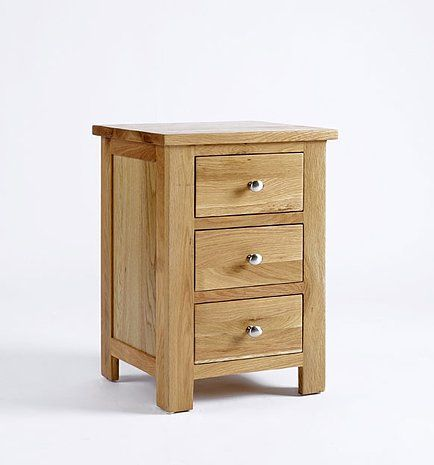 Lansdown Oak Bedside Cabinet Over 50 Off Oak Furniture Solutions
