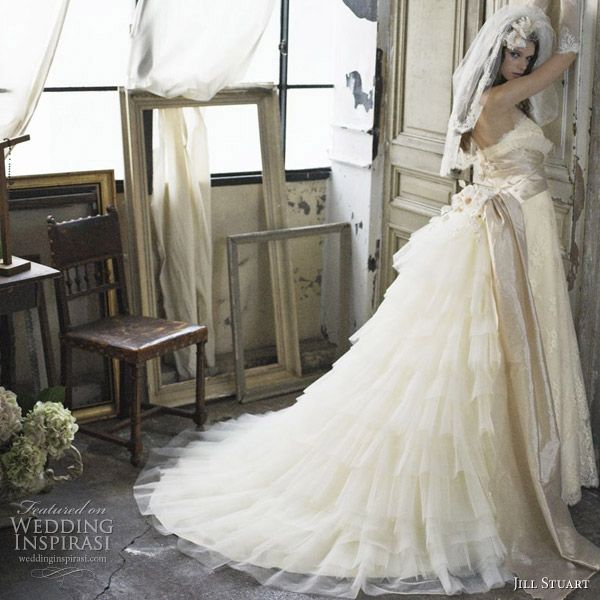 Romantic Wedding Dresses by Jill Stuart | Romantic wedding dresses ...
