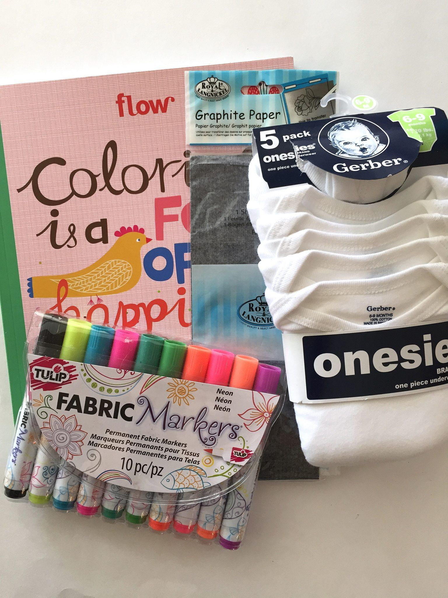 How to use a coloring book on a onesie. #JenniferPerkins #diy #diyproject #crafts #crafty #CreateEveryday #DoItYourself
