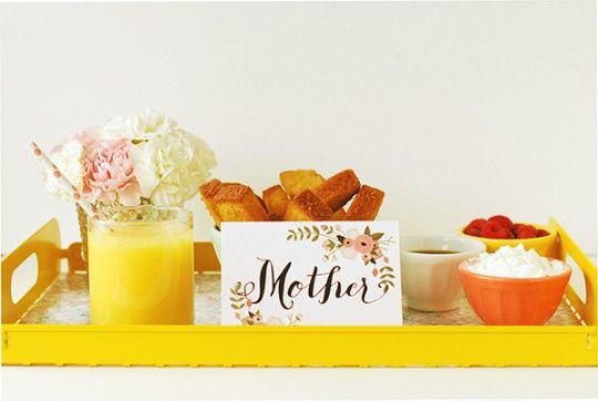 DIY \ Handmade Store-bought Mother's Day Brunch