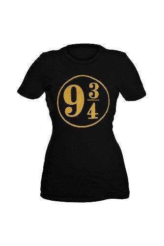c451bf8c6a4 Harry Potter And The Deathly Hallows Platform 9 3 4 Girls T-Shirt Plus Size  3XL  Clothing