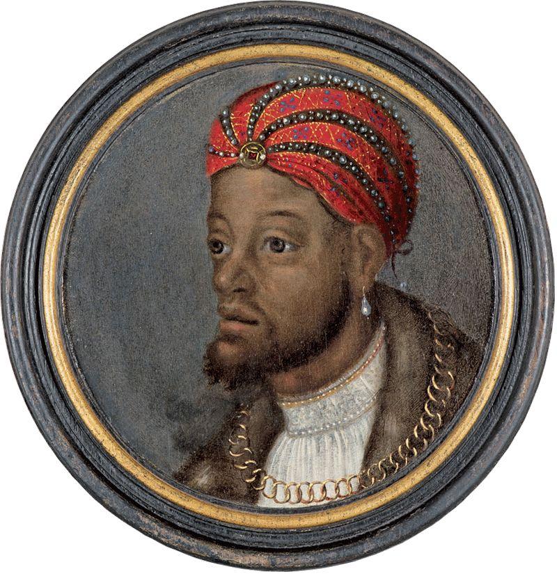 Portrait of a Wealthy African, Flemish or German, ca. 1540, Antwerp - (Walters, Baltimore)