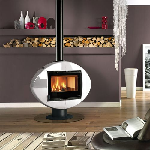 La Nordica Ellipse Wood Burning Stove From Fireplace Products
