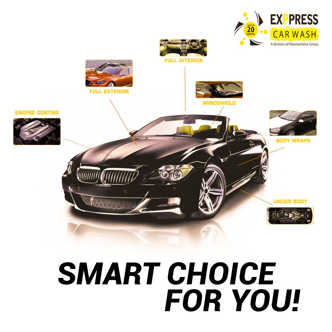 Exppress car wash brings you the best solutions for caring