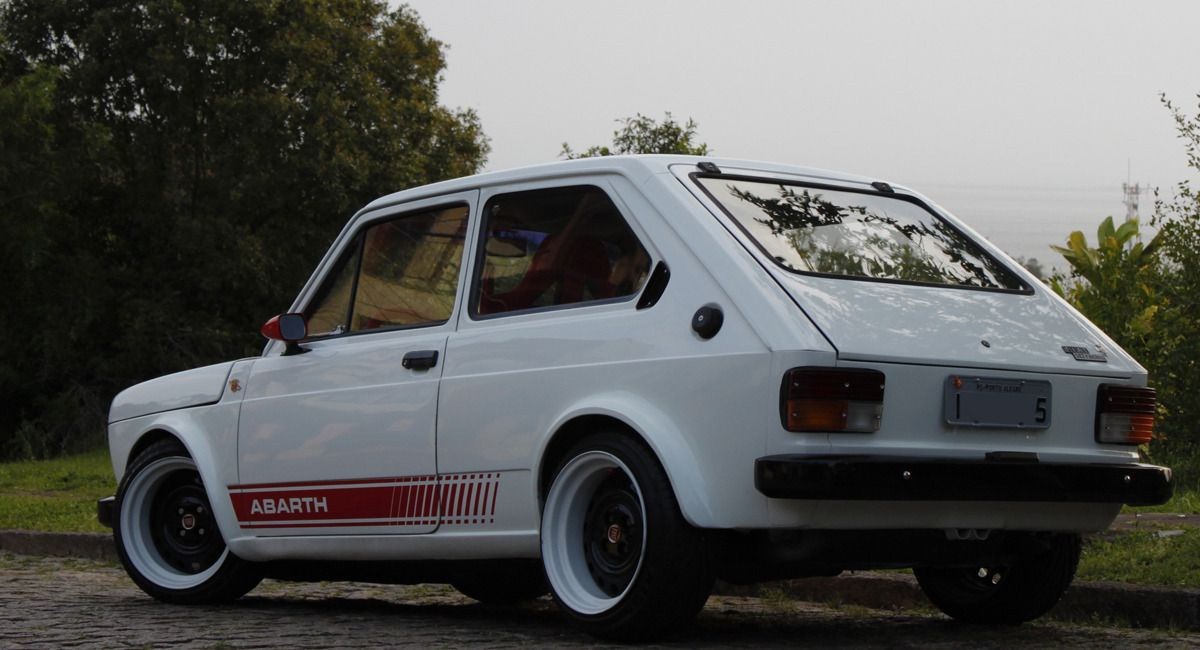 Sic Life And Everything Bossride Fiat 147 Abarth Voitures