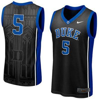 2408f9b1a NEW Duke Blue Devils  5 Elite Aerographic Replica Basketball Jersey - Black