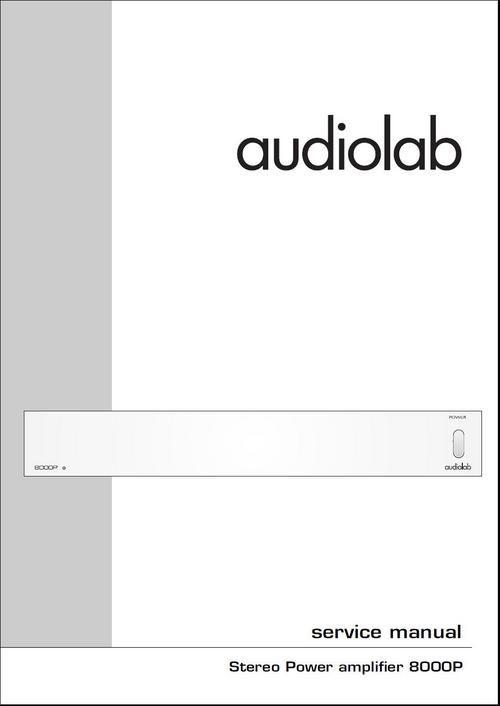 audiolab 8000p original service manual in pdf in 2018 hi fi useful rh pinterest com Service ManualsOnline audiolab 8000cde service manual