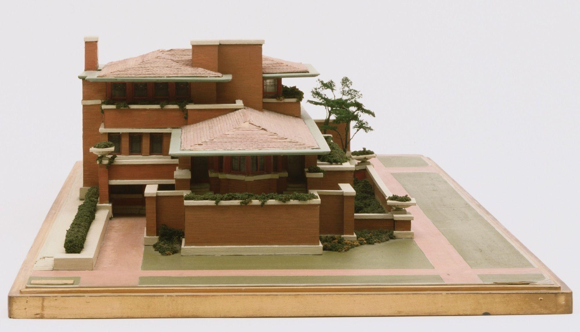 Outlet-Verkauf starke verpackung tolle Preise Frank Lloyd Wright. Frederick C. Robie House, Chicago ...