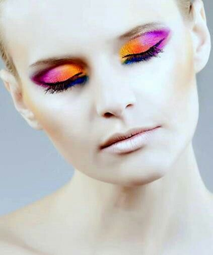 Bold Makeup.