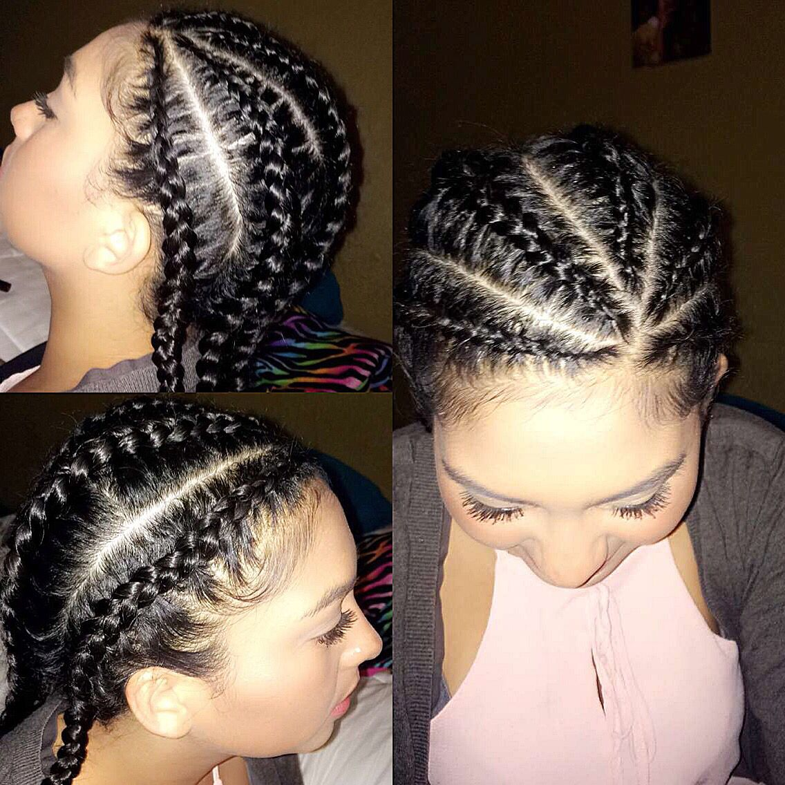 5 Corn Roll Braids Roll Hairstyle Curly Hair Styles Naturally Corn Rolls
