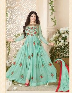 e08f1ecee0 Avon Ayesha Takia Georgette Anarkali Suit (5 pc Catalog) | Wholesale ...