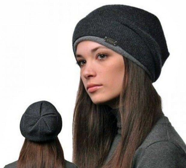 Купить вязанные шапки женские зима 2016-2017