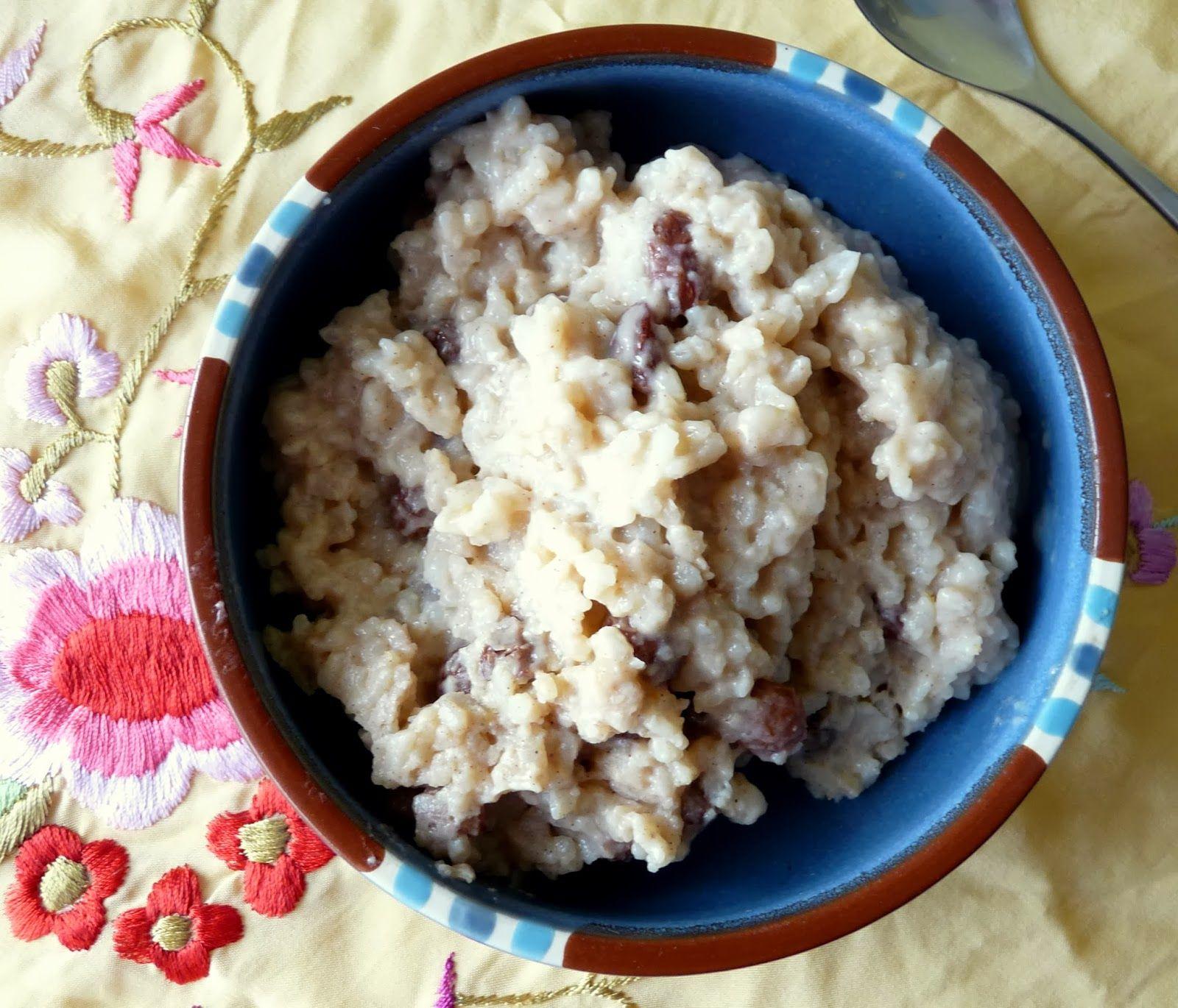 Seasonal Ontario Food: Mexican Rice Pudding