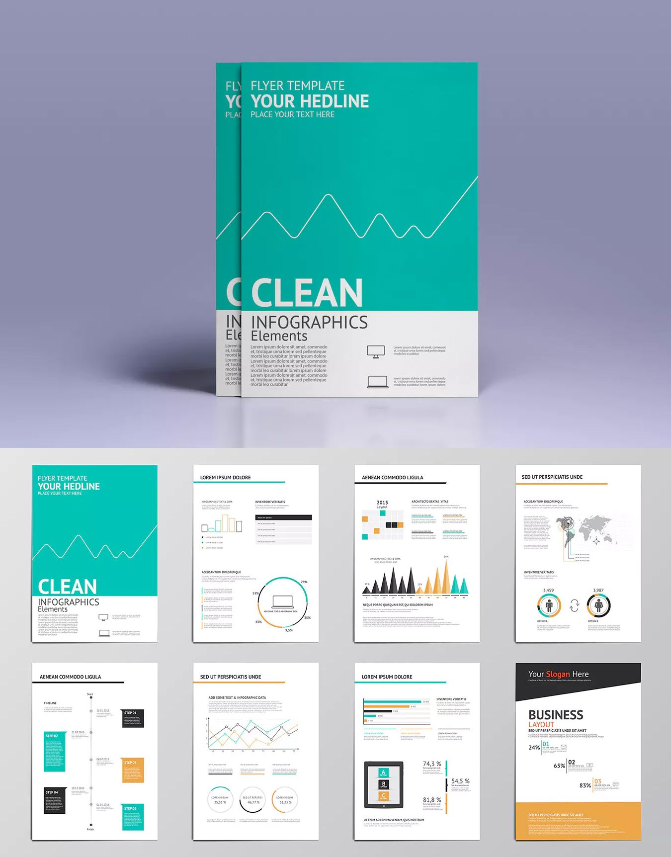 Busines infographics elements for brochures templates ai eps best busines infographics elements for brochures templates ai eps saigontimesfo