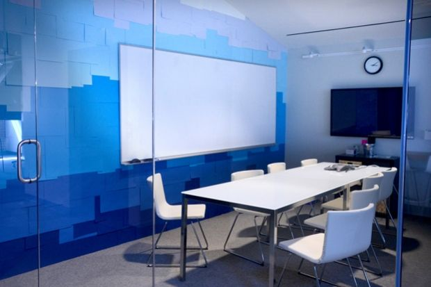 office blue. Blue Office Walls. Interior - Conference Room With Wall Treatment. Walls F