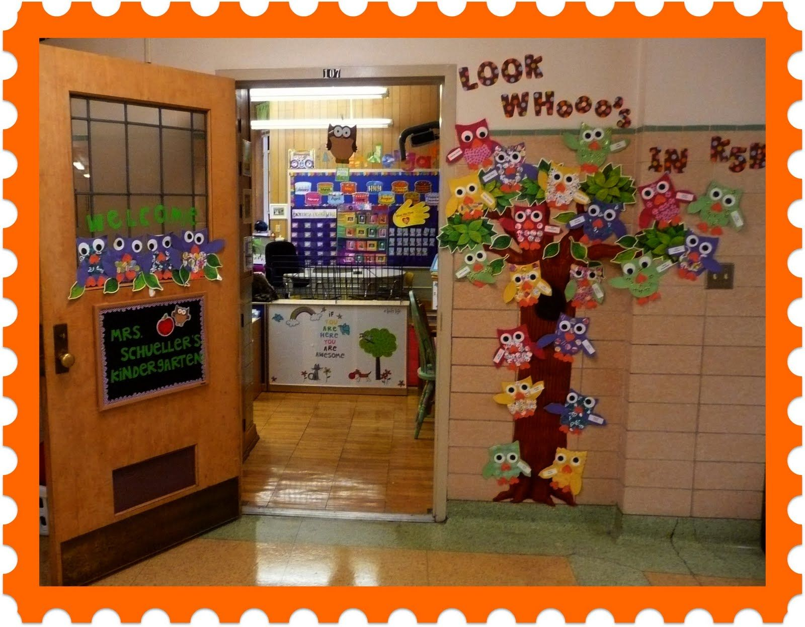 The Very Busy Kindergarten: Beginning of the Year