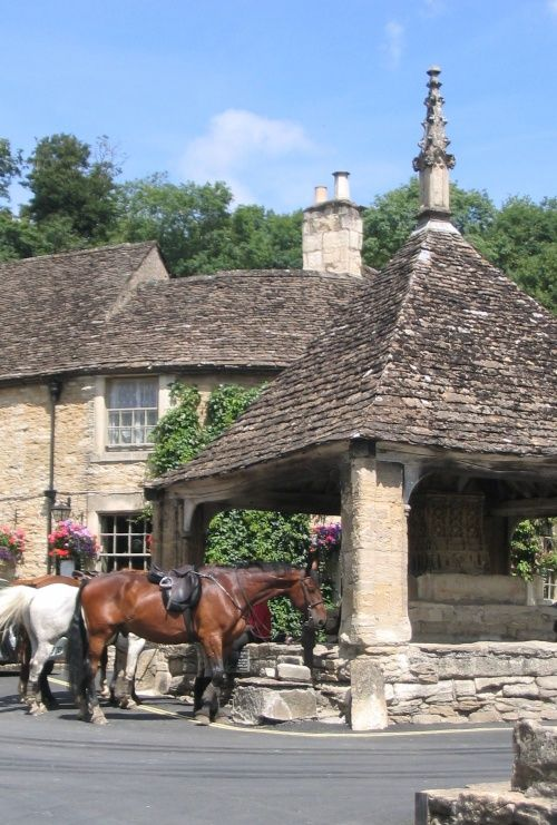 """Castle Combe """"The Prettiest village in England ."""" by Bill Swan at PicturesofEngland.com"""