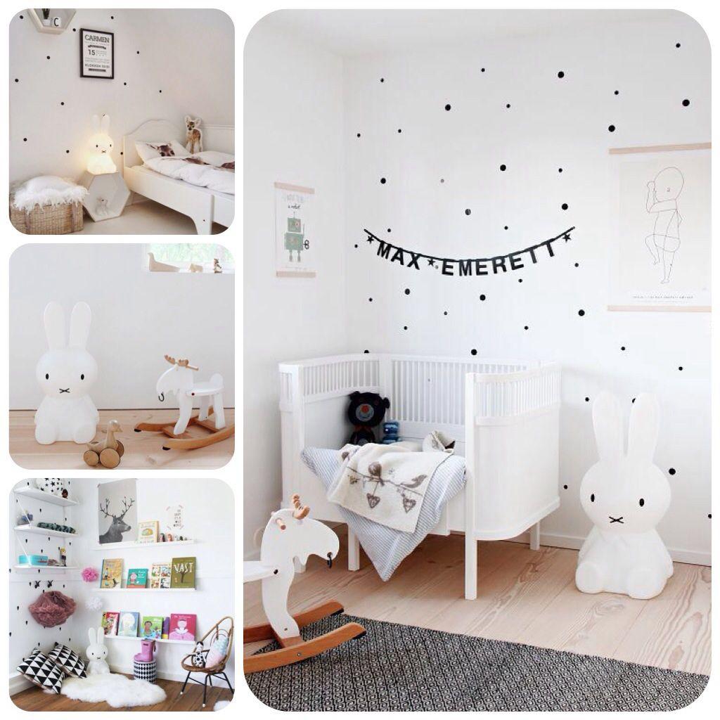 Idées déco pour une chambre bébé autour de la veilleuse lapin