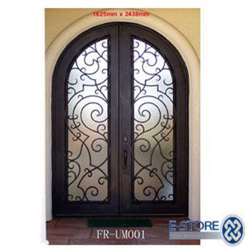 Wholesale Iron Door | iron door 004 wrought iron door feature 1 ...