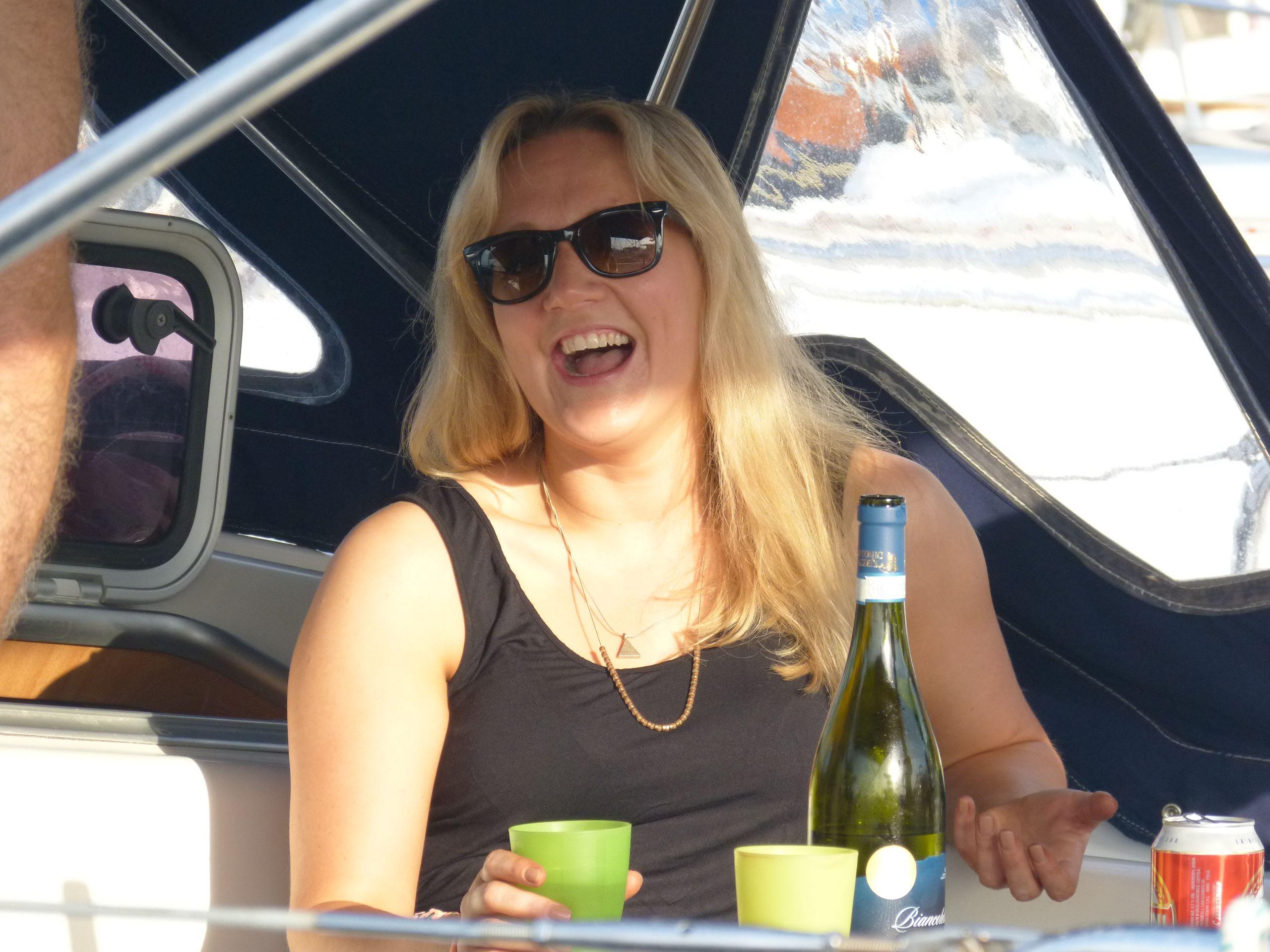 L'allegria di una vacanza in barca a vela...