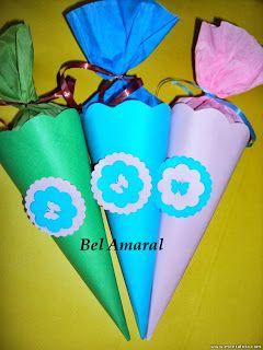 Escolinha Bíblica da Garotada: Cones personalizados para lembrancinha do dia das ...