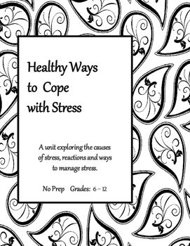 Coping Skills: Healthy Ways to Cope with Stress (Middle
