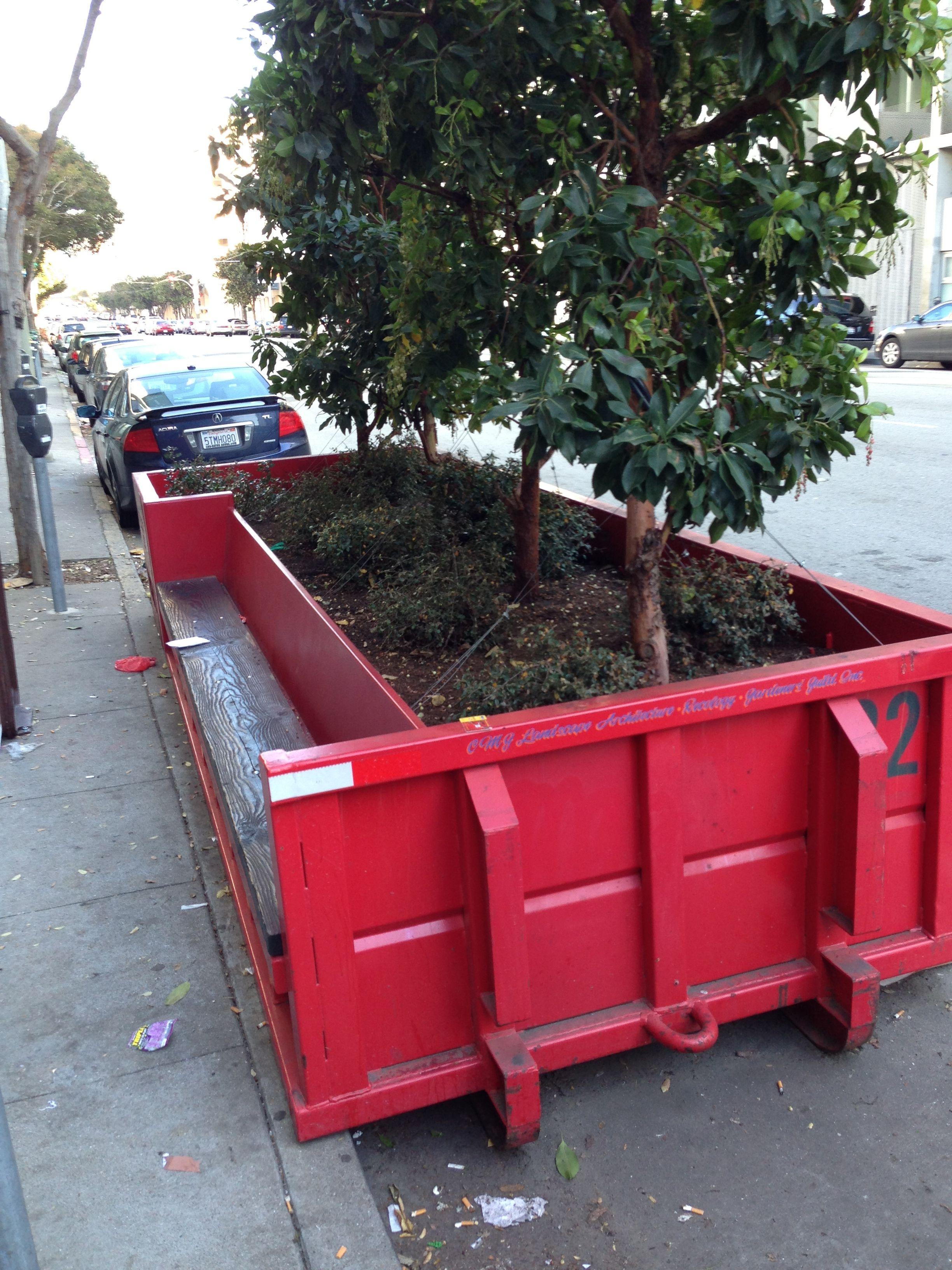 Dumpster Garden Container Gardening Rent A Dumpster Dumpsters