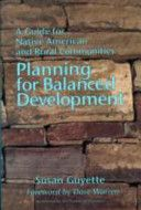 Planning for balanced development