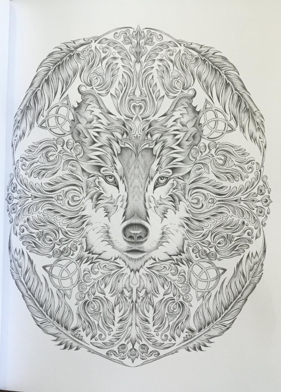 Colour My SketchBook 3 Greyscale Colouring Book Volume 1 Bennett