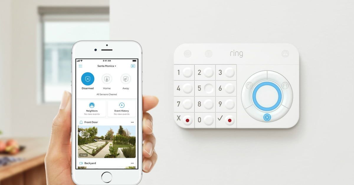 Ring S Updates Make Its Devices And Neighbors App Smarter And More Efficient Alarm Systems For Home Best Home Security System Home Security Alarm