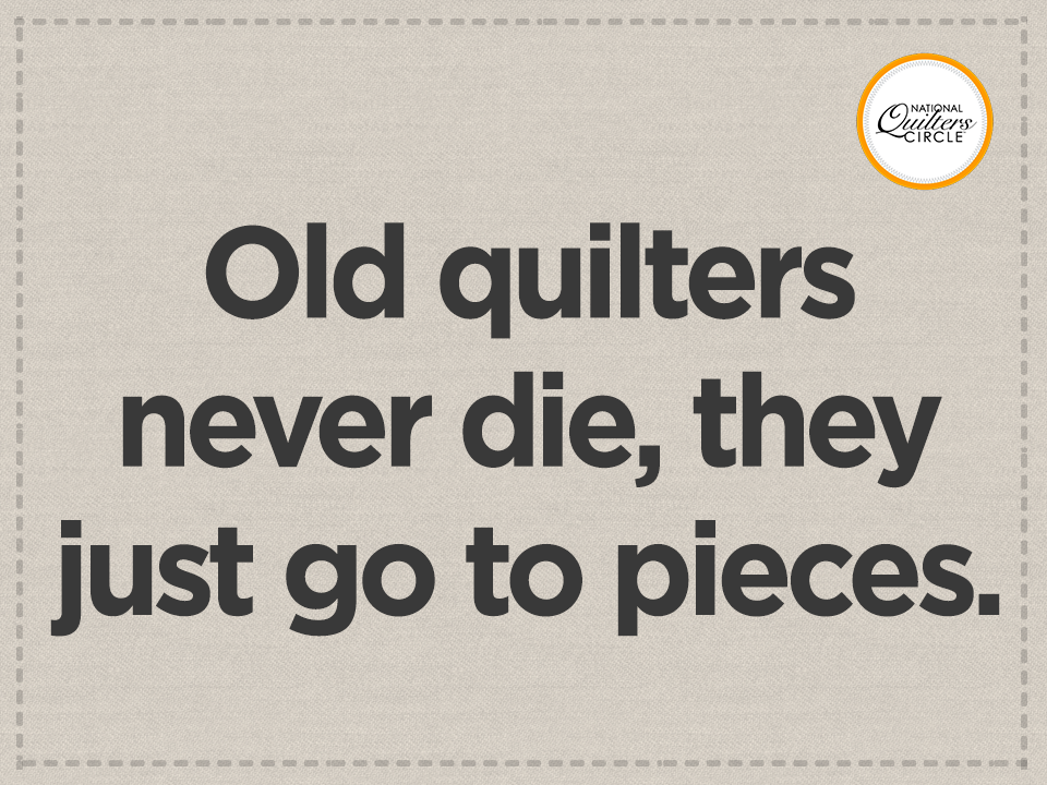 This quilting joke had us in stitches! http://go ... : quilting jokes - Adamdwight.com