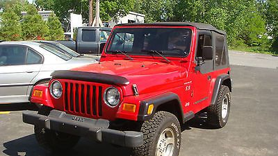 2002 Jeep Wrangler X Soft Top Automatic Lo Miles Looks Runs Great