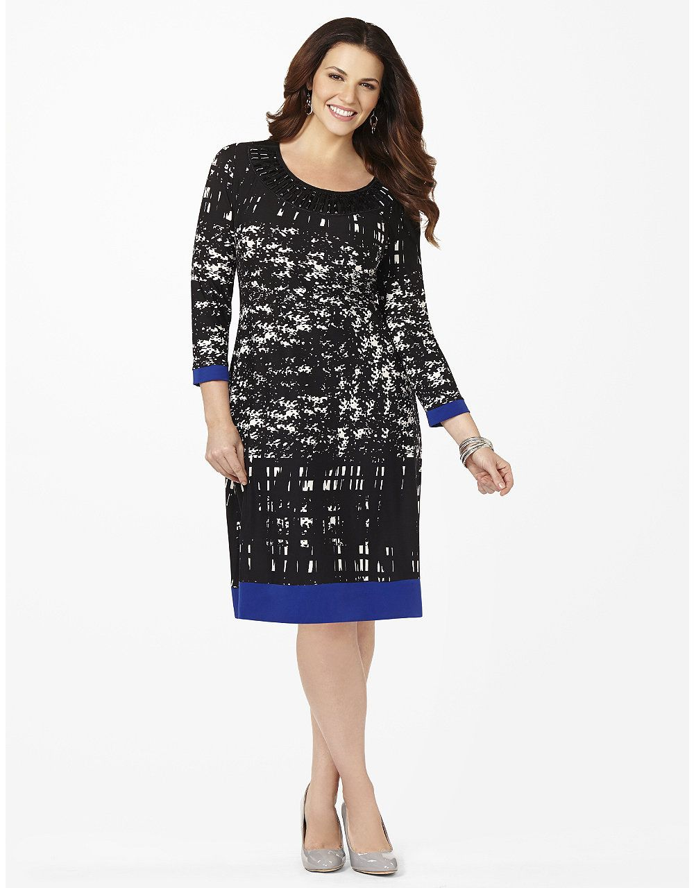 Geo Contrast Shift Dress Catherines For Me Pinterest Geo And