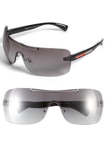 20a504cc2c Prada Rimless Shield Sunglasses