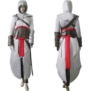 Assassin's Creed Altair Ibn-La'Ahad Cosplay For Women    You have no idea how badly I want to do this.