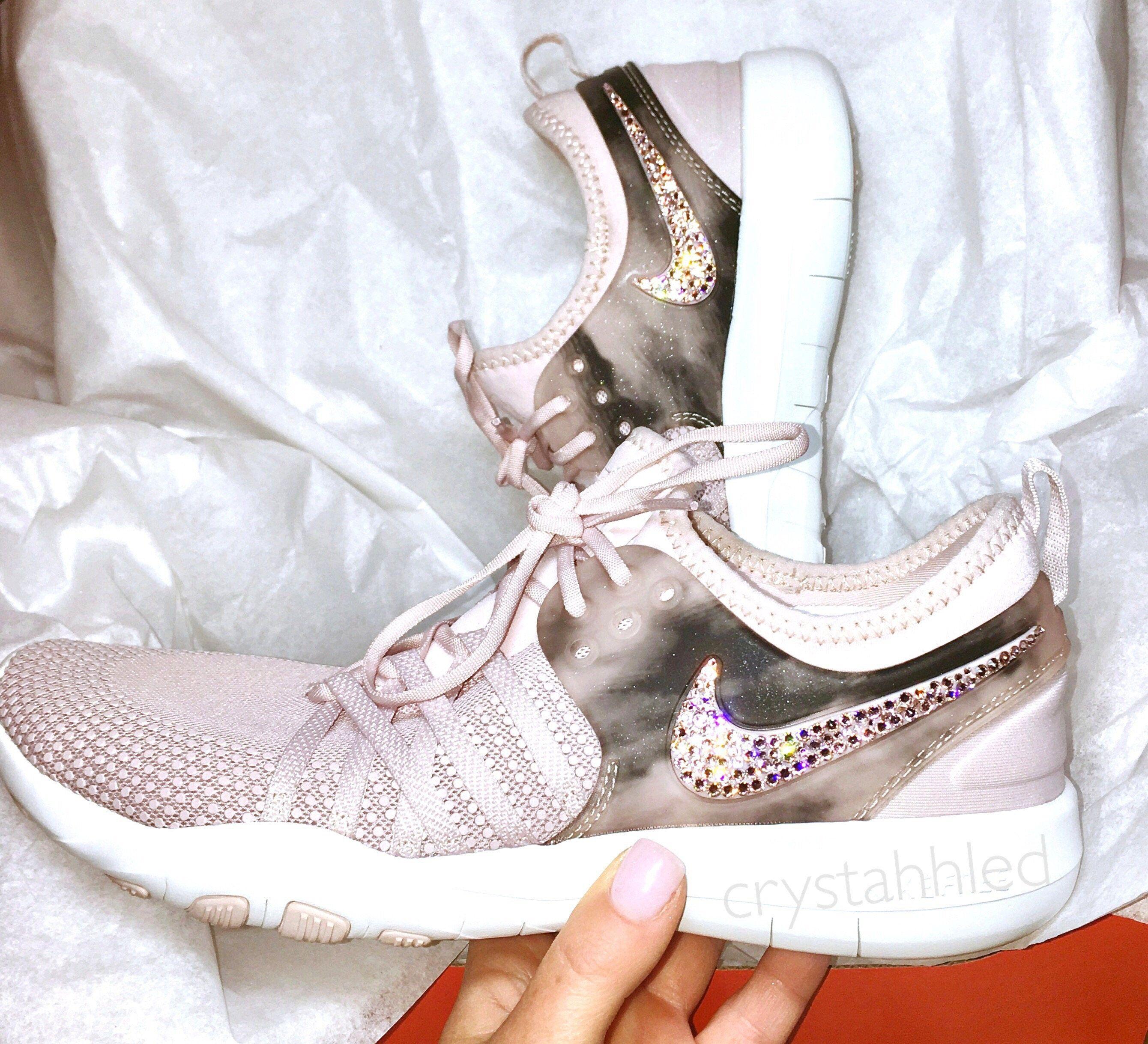 ... Nike Free TR 7 Amp - Bling - Perfect Gift - Nike Shoes - Crystahhled - Nike  Womens ... 7482fab7f9